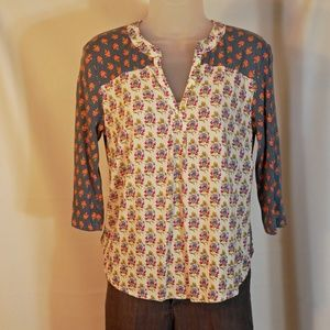 Maeve Anthropologie Top, Small Petite